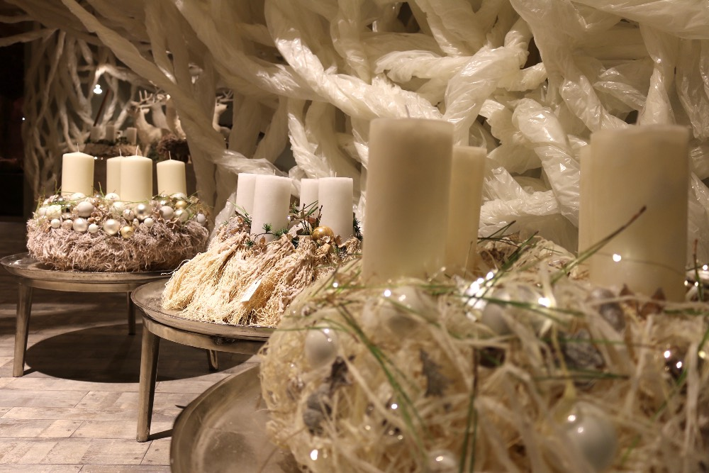 Bildergalerien for Weihnachtstrends 2016 floristik